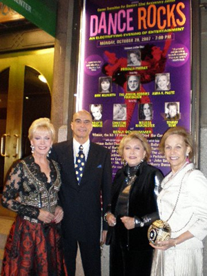 Patricia Kennedy, Alexander Dube, Ginny Mancini and Mitzi Perdue.