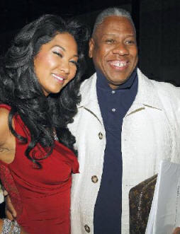 Kimora Lee Simmons and Andre Leon Talley.