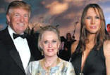 palm beach zoo dinner dance,donald trump,tippi hedren,melania trump,frances hayward
