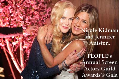 nicole Kidnman, jennifer Aniston