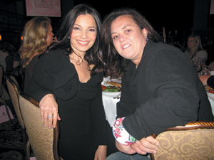 Fran Drescher and Rosie O'Donnell at The 2006