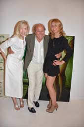 Lori Cuisinier, Christopher Von HoHenberg and Daniela Zahradnikova.  Photo by:  Rose Billings/Blacktiemagazine.com