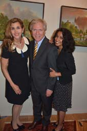 Debbie Dickinson, Dr. Keith Kattner and Nita Kattner.  Photo by:  Rose Billings/Blacktiemaagzine.com