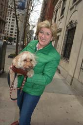 Pam Laudenslager and Lucy .  Photo by:  Rose Billings/Blacktiemagazine.com