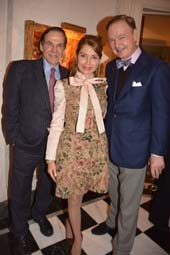R Couri Hay, Jean Shafiroff (Host) and Alex Donner.  Photo by:  Rose Billings/Blacktiemagazine.com
