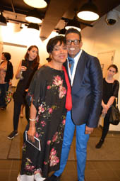 Phylicia Rashad and B Michael.  Photo by:  Rose Billings/Blacktiemagazine.com