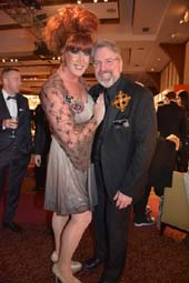 Empress Anne Tique and Emperor Ron.  Photo by:  Rose Billings/Blacktiemagazine.com
