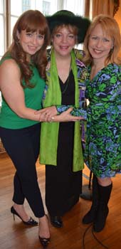 Maxine Linehan, KT Sullivan and Karen Oberlin .  Photo by:  Rose Billings/Blacktiemagazine.com