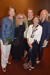 Cherry Jones, Carol Kane, Trich Connelly, and Maureen Anderman,.  Photo by:  Rose Billings/Blacktiemagazine.com