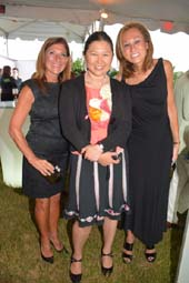 Dr. Lauren Cassell, Chief of Breast Surgery Lenox Hill Hospital, Dr. Gwen Korovin,Voice Doctor, and in center Dr. Constance M. Chen, Breast Reconstruction .  Photo by:  Rose Billings/Blacktiemagazine.com