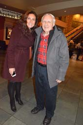 Laura Bernanti and Donald Billings.  Photo by: Rose Billings/Blacktiemagazine.com