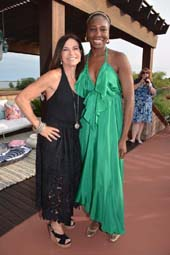 Founder Holiday House Iris Dankner and Venus Williams .  Photo by:  Rose Billings/Blacktiemagazine.com