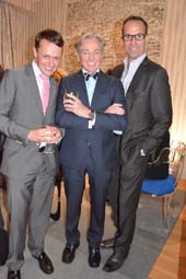 Roric Tobin, Geoffrey Bradfield, and John Smiroldo.  Photo by:  Rose Billings/Blacktiemagazine.com