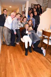 The Friers Host Holiday Dinner.  Photo by:  Rose Billings / Blacktiemaagzine.com