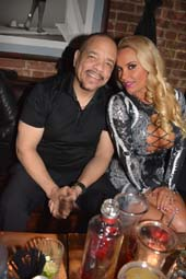 Ice T and CoCo.  Photo by:  Rose Billings/Blacktiemagazine.com