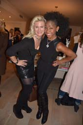 Margo Manhattan and N'Kenge.  Photo by:  Rose Billings/Blacktiemagazine.com