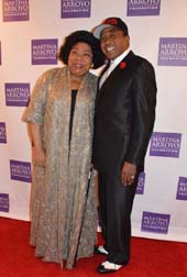 Martina Arroya and Ben Vereen.  Photo by:  Rose Billings/Blacktiemagazine.com