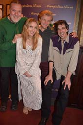 Jon Weber, Musical Direction/Piano, Lauren Fox, Peter Calo Guitar, Ritt Henn.  Photo by:  Rose Billings/Blacktiemagazine.com