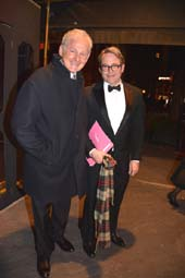 Victor Garber and Matthew Broderick .  Photo by:  Rose Billings/Blacktiemagazine.com