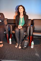 Cherien Dabis (Director, Producer & Star) at NYWIFT at The Lighthouse screening  of Her Film May in the Summer.  Photo by:  Rose Billings/Blacktiemagazine.com