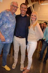 Barry Klarberg, Tony Robbins and Sara Herbert Galloway.  Photo by:  Rose Billings/Blacktiemagazine.com