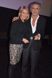 Patricia Duff, Founder of The Common Good and Bernard -Henri Levy .  Photo by:  Rose Billings/Blacktiemagazine.com