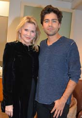 Patricia Duff (Founder/CEO The Common Good) and actor Adrian Grenier.  Photo by:  Rose Billings/Blacktiemagazine.com