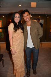 Angela B Thomas Filmmaker and Prabal Gurung Designer.  Photo by:  Rose Billings/Blacktiemagazine.com