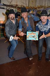 John Hagen, Marcus Collins and JC Fisher of The Texas Tenors .  Photo by:  Rose Billings/Blacktiemagazine.com