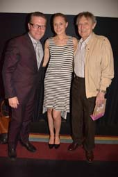 Miles Doleac, Director /Star, Christine Siedel, Star, John Cullum .  Photo by:  Rose Billings/Blacktiemagazine.com