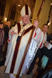 His Eminence Timothy Michael Cardinal Dolan Archbishop of New York .  Photo by:  Rose Billinings/Blacktiemagazine.com