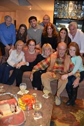 Top (left to right) : Donald Billings, Cathy Sales, Dylan Freier, Bobby Freier, Suzy Freier, Suzy Freier, Cliff Sales Bottom: Sheila Freier, Michelle Freier, Irene Garber, Jerome Garber, Nicole Sales .  Photo by:  Rose Billings/Blacktiemagazine.com
