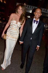 Christy Teigen and John Legend.  Photo by:  Rose Billings/Blacktiemagazine.com