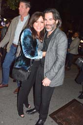 Rachael Ray and her husband John Cusimano.  Photo by:  Rose Billings/Blacktiemagazine.com