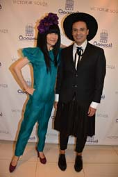 Chiu-Ti jansen and Victor dE Souza.  Photo by:  Rose Billings/Blacktiemagazine.com