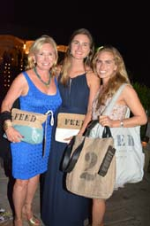 Sharon Bush, Lauren Bush Lauren and Ashley Bush.  Photo by:  Rose Billings/Blacktiemagazine.com