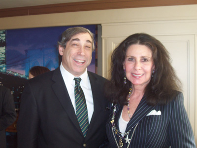 Abe Shainberg and Barbara Girard