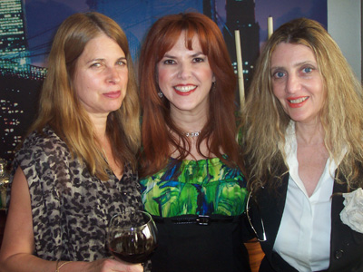 Laura Zinn, Lorraine Cancro and Joyce Brooks