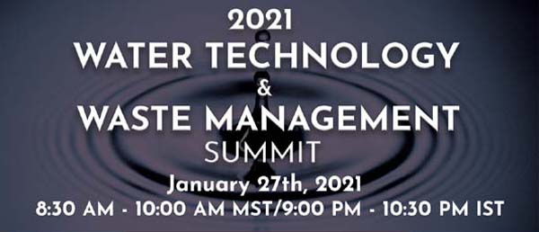 water technology and waste management summit