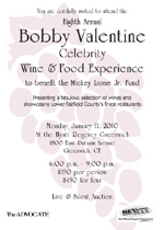 Eighth Annual Bobby Valentine Celebrity Wine & Food Experience