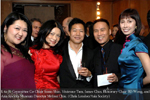 Committee Co-Chair Susan Shin, Vivienne Tam, James Chin, Honorary Chair BD Wong, and Asia Society Museum Director Melissa Chiu