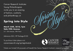 Cancer Research Institute Young Philanthropists, Spring Into Style, Saks Fifth Avenue