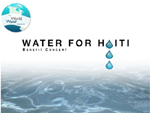 Water for Haiti Benefit Concert