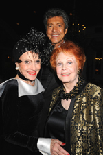 Liliane, Tommy Tune and Arlene Dahl at the 2009 Boys' Towns of Italy Gala