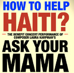 "Benefit Concert for Haiti ""Ask Your Mama"""