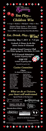 3rd Annual Denim, Diamonds & Dice Casino