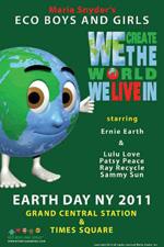Maria Snyder's Eco Boys & Girls, Earth Day