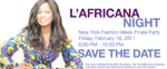 L'AFRICANA NIGHT, THe MacDella Cooper Foundation