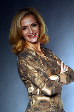 Sports radio & television personality Ann Liguori .  Photo by:  David Garvey