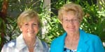 Maria Mamlouk and Carol Brummett, Event Chairwomen